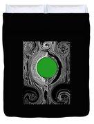 Green Mirror Duvet Cover