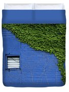 green on blue IMG 0964 Duvet Cover