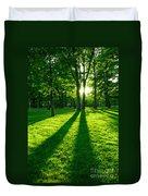 Green Park Duvet Cover by Elena Elisseeva