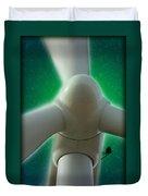 Green Power Duvet Cover