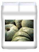 Green Pumpkins Duvet Cover