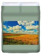 Green River Texturized Duvet Cover