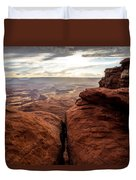 Green River View Duvet Cover by Dustin  LeFevre