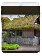 Green Roof Duvet Cover