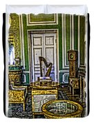 Green Room - Russia Duvet Cover
