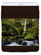 Green Seasons Duvet Cover