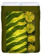 Green Silk 02 Duvet Cover
