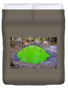 Green Spill Duvet Cover