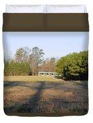 Green Stables - Lake Wheeler Road Duvet Cover