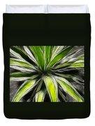 Green Tidings Of Joy Duvet Cover