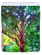 Green Tree Duvet Cover