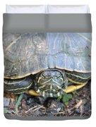 Green Turtle Duvet Cover