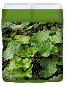 Green Vine Duvet Cover