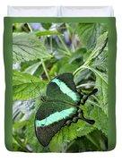 Green Wings 2 Duvet Cover