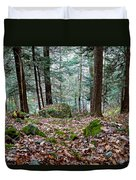 Green Woodland Beauty Duvet Cover