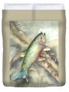 Greenback Cutthroat Trout Duvet Cover