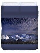 Greenland Midnight Sun Duvet Cover