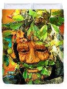Greenman Duvet Cover