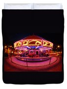 Greenway Carousel - Boston Duvet Cover