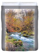 Greer Spring In Fall Duvet Cover