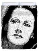 Greta Garbo Duvet Cover