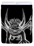 Grevil Chalk Duvet Cover