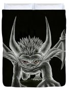 Grevil Statue Duvet Cover