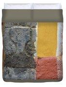 Grey Madder Duvet Cover