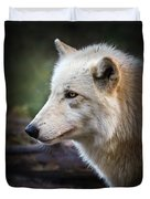 Grey Wolf Duvet Cover