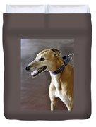 Greyhound Dog Duvet Cover