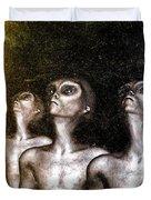 Greys Duvet Cover by Bob Orsillo