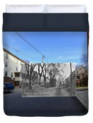 Greystone Avenue In North Providence Rhode Island Duvet Cover