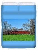 Griesemers Mill Covered Bridge Berks County Pennsylvania Duvet Cover
