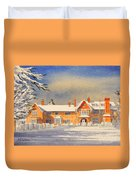 Griffin House School - Snowy Day Duvet Cover