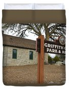 Griffith Quarry Park And Museum Penryn California Duvet Cover