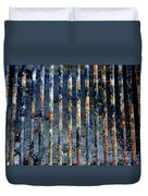 Grill Abstract Duvet Cover