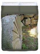 Grinding Stone Duvet Cover