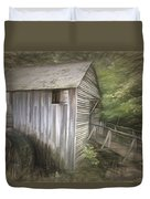 Grist Mill At Cades Cove Duvet Cover