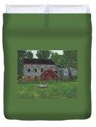 Grist Mill At Wayside Inn Duvet Cover