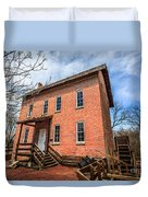 Grist Mill In Northwest Indiana Duvet Cover