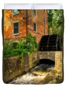 Grist Mill Duvet Cover by Thomas Woolworth