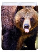 Grizzly Bear 1 Duvet Cover