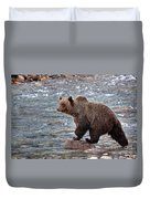 Grizzly River Duvet Cover