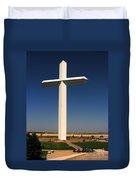 Groom Texas Cross Duvet Cover
