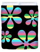 Groovy Flowers 4 Duvet Cover