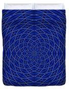 Mandala Blue Marvel Duvet Cover