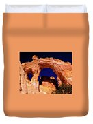 Grosvenor Arch Sunset Kodachrome Basin Duvet Cover