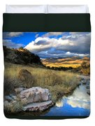 Grosvenor Hills 17 Miles North Of Mexico Duvet Cover