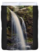Grotto Falls Tennessee Duvet Cover