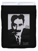 Groucho Duvet Cover